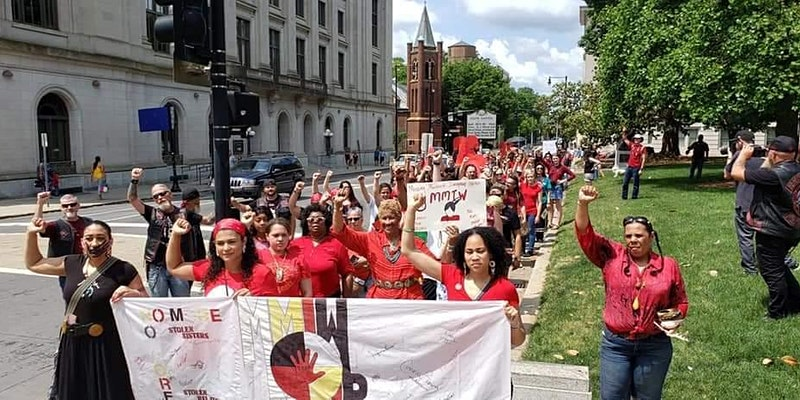 3rd Annual Missing and Murdered Indigenous March North Carolina
